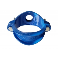 China 1.6mpa BSP NPT Cast Iron Pipe Fittings Saddle Clamp wholesale