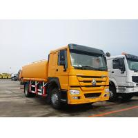 China ZZ1167M4611 HOWO Water Tank Truck 14 - 18m Sprinkling Scope 9.726L Displacement wholesale