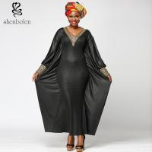 China Kaftan Slim Fit African Print Gowns Shirt Dresses , Long African Print Formal Dresses wholesale