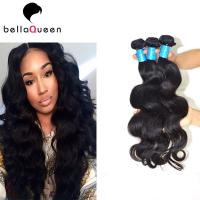 China Rainbow Lady Body Wave Peruvian Human Hair Sew In Weave Tangle Free on sale