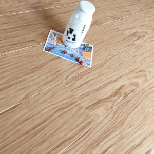 China Custom Comfortable Bamboo Floor Tiles Light Brown High Glossy Surface wholesale