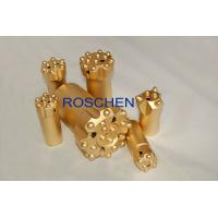 China R32 Ballistic Button Drill Bit Rock Drilling Tool For Underground Mining Tunneling wholesale