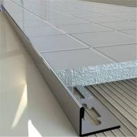 China Brushed Finish Matt Stainless Steel Tile Trim 201 304 316 Wall Frame Ceiling Wall Frame Ceiling wholesale