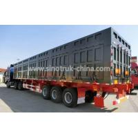 China Safety Heavy Duty Semi Trailers / Van Semi Trailer With Telescopic Type Landing Gear wholesale