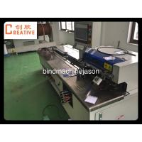 China Wire o bind and punch inline machine PWB580 for notebook and calendar on sale