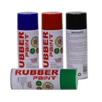 China Aerosol Rubber Spray Paint / Plastic Dip Spray Fast Drying Anti -  Corrosion wholesale