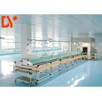 China Flexible Lean Automated Production Line Customizable Size With Double Face Conveyor Belt wholesale