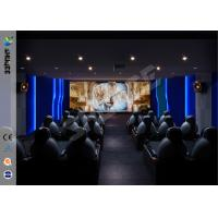 China Theme Park Party Gaming Interactive 7D Movie Theater For Business wholesale