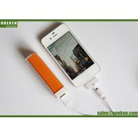 China Pocket Lipstick 18650 Power Bank For Smartphones / Mobile Phone Portable Charger wholesale