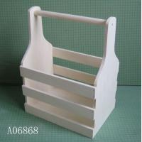 China Wooden cheer bottles trays, wooden basket wholesale