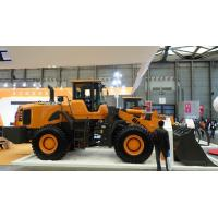 China 3 ton Rated Load Wheel Loader Excavator , Bucket Front Wheel Loader Spare Parts wholesale