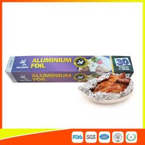 China Disposable Food Grade Aluminum Foil Sheets Oil Resistant , Aluminium Sheet Roll wholesale