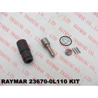 Quality DENSO Genuine common rail injector overhaul kit for 295050-0810, 295050-0540, 23670-0L110, 23670-09380 for sale