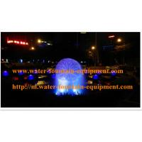 China Crystal Ball Fountain With Atomizer RGB LED Light Has Misting And Colorful wholesale