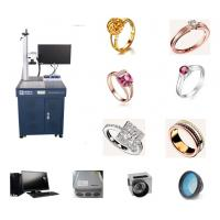 Quality Jewelry Cat Tag Fiber Laser Engraving Machine For Gold Silver Bracelet for sale