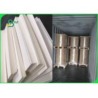 China 0.9mm 1.0mm Natural White Absorbent Paper For Car Air Freshener 700*1000mm on sale
