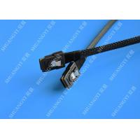 Quality Computer Serial Attached SCSI SAS Cable SFF 8087 To SFF 8087 Tinned Cooper Conductor for sale