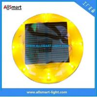 China CE IP68 ASD-011 Plastic Solar Road Stud/LED Cat Eyes Traffic Cone Light wholesale