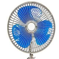 China 12v / 24v Car Cooling Fan 8 Inch Oscillating Fan With Full Safety Metal Guard wholesale