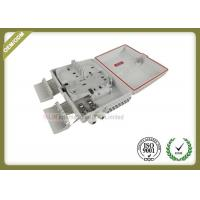Buy cheap ABS material 16core outdoor waterproof optical cable Junction Box white color from wholesalers