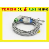 Buy cheap Integrated Biolight 5 leads ECG Cable for Patient Monitor, Snap / AHA connector from wholesalers