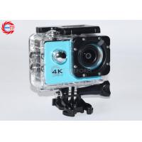 China Blue Full HD Sport Camera Waterproof 4k wholesale
