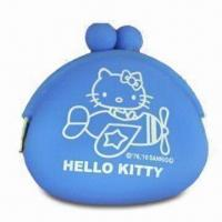 China Silicone Coin Purse for Women/Children, Easy-to-carry, Water-resistant, Eco-friendly, Fashion Design wholesale
