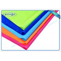 China Orange Blue Red Flame Retardant Nonwovens PP Spunbond Non Woven Fabric for Furnitures wholesale