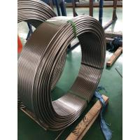 China Welded Stainless Steel Coil Tubing ASTM A249 269 Standard For Boiler And Condenser wholesale
