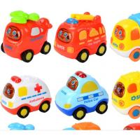 China Hands Pushing truck inertia toy car  inertia toy ambulance helicopter crane Inertia Police Vehicle fire engine for kid wholesale