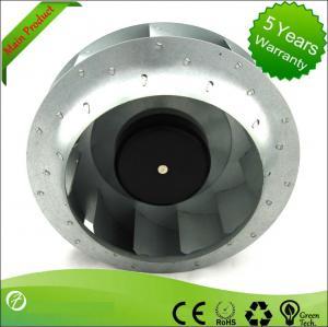 China 1955rpm Speed Telecom EC Centrifugal Fans 250mm Air Purification wholesale