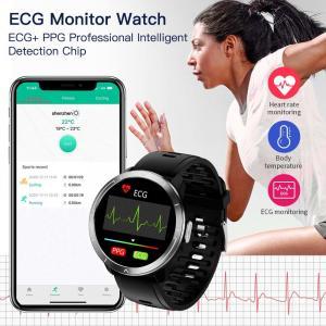 China H18 ECG PPG HRV SPO2 Smart Fitness Tracker H18 Monitor Blood Oxygen Pressure Monitoring Smart Bracelet wholesale