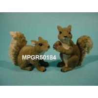 China Polyresin Garden Squirrel crafts, garden squirrel on sale