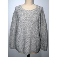 China Cotton Linen Ladies Pullover Sweaters Warm Fashion Blends Knitted Blouse wholesale