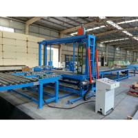 China Polyurethane Foam Block Cutting Machine with Knife Belt Type / Saw Toothed Type wholesale