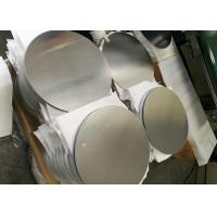 China Mill Finish 3000 Series Aluminum Round Plate , Strongest Commercial Grade Aluminum Disks wholesale