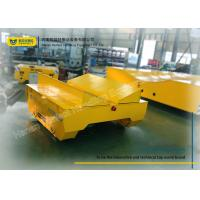 Buy cheap Transferring Electric Transfer Cart Steel Coil Mill Rail Car 20T Capacity from wholesalers