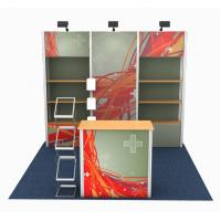 China Modular Designed Custom Tradeshow Booth Portable Frameless Style Easy Build wholesale
