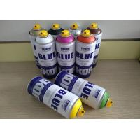 China Graffiti Low Pressure Spray Can For Canvas / Wood / Concrete / Metal / Glass Surface wholesale