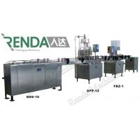 China Soda Water Electric Can Filling Machine , Gas Drink Bottling Equipment on sale