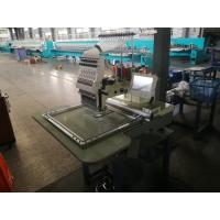 China Large Size Single Head Embroidery Machine High Precision In Driving Easy For Transit wholesale