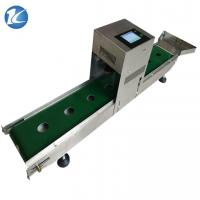 China Industrial Continuous Inkjet Printers , Expiry Date Stamp Machine 600dpi Resolution wholesale