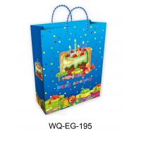 China Happy Birthday Paper Gift Bags wholesale