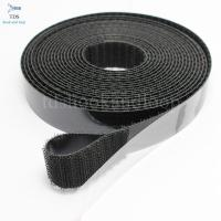 China Hot Melt Glue Self Adhesive Hook And Loop Tape Customized Size / Color on sale