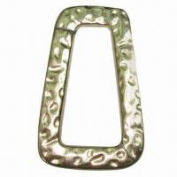 Buy cheap Metal Accessory with Textured Design, Made of Alloy, Lead-free from wholesalers