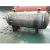 China Horizontal Stainless Steel Air Receiver Tanks For Machinery Manufacturing / Textile Industry wholesale