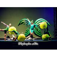 China Drama Stage Performance Green Inflatable Costumes, Inflatable Wings for Sale wholesale