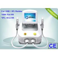 China Pain Free Home SHR Hair Removal Device , Speckle Removal Machine With Sapphire wholesale