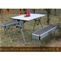Quality Aluminum Multi-Purpose Center Folding Outdoor Camping Table Capacity 50kg for sale