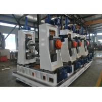 Buy cheap High Frequency Square Tube Mill , Carbon Steel Welded Pipe Production Line from wholesalers